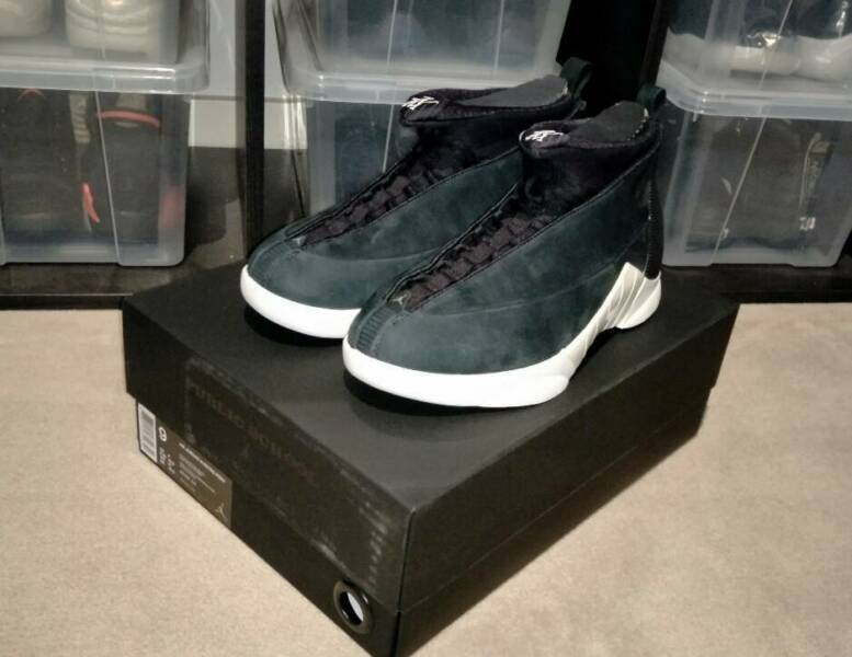 f8846e66d9ab87 Air Jordan 15 Retro X PSNY Public School US9 Receipt New Nike ...