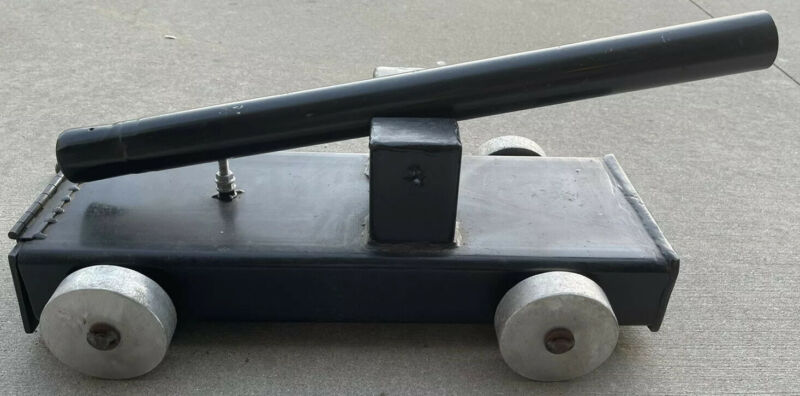 Handmade Black Powder Signal Cannon Carriage Muzzleloader Salute July Fourth