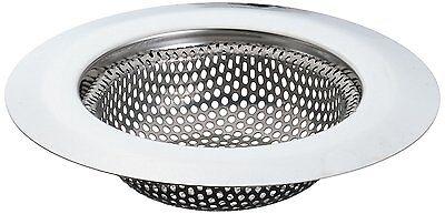 """1pk 4.5"""" Stainless Steel Kitchen Sink Strainer - Large Wide Rim Drain Catcher"""