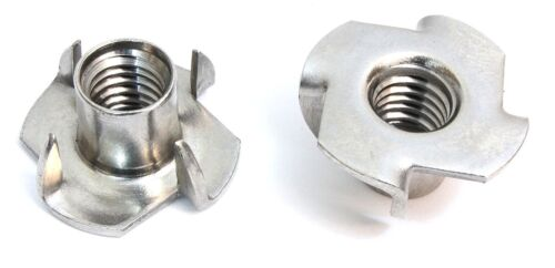 Escape Climbing Stainless Steel Four Prong T-Nuts 100 Pack