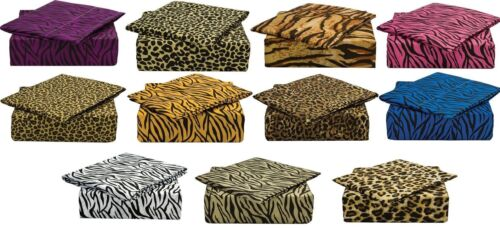 820 SAFARI COLLECTION DEEP POCKET 4 PIECE BED SHEET SET BY C