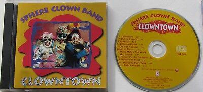 SPHERE CLOWN BAND...CLOWNTOWN...1997 11 TRACK MUSIC CD Clown-band