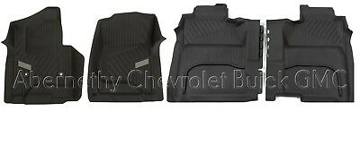 GM All Weather Full Coverage Front  Rear Floor Liners 2014 2018 Silverado OEM