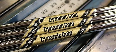 New Set Of 3 Dynamic Gold Tour Issue X7 Wedge Shafts Authorized Pfc Dealer
