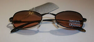 Aspex Oregon sports fashion sunglasses mens ladies metal  brown Oval lens cat2