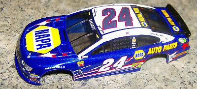 """""""NEW"""" AW REL 4 #24 NAPA CHASE ELLIOTT NASCAR SERIES HO SLOT CAR BODY"""