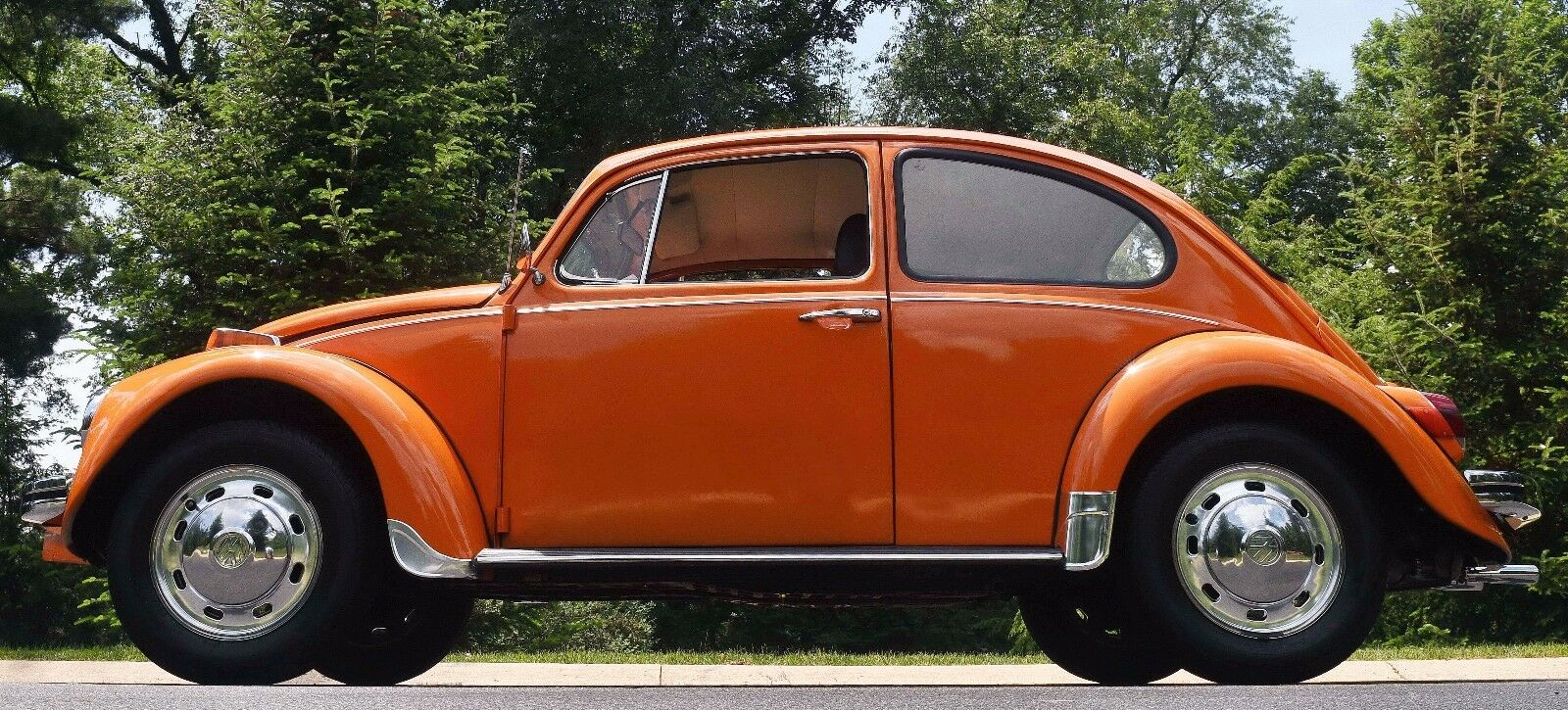 1970 Volkswagen Beetle - Classic  1970 70 Volkswagen VW Classic Beetle Orange Manual Low Milage