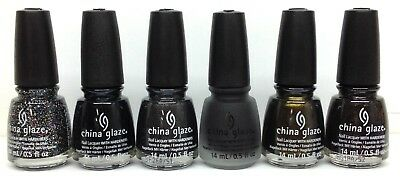 China Glaze Nail Lacquer PAINT IT BLACK HALLOWEEN 2018 - Choose Any Color (Paint Halloween Nails)