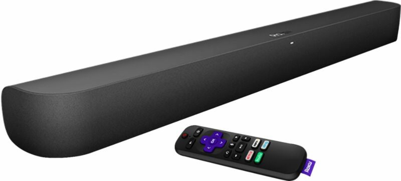 Roku - 2.0-Channel Smart Soundbar - Black