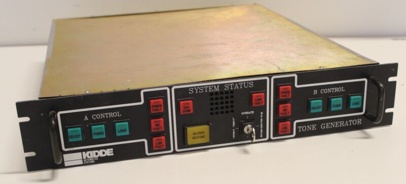 KIDDE AUTOMATED SYSTEMS FIRE PROTECTION MONITOR INSTRUMENTS TONE GENERATOR