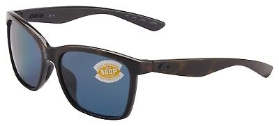 Costa Del Mar Anaa Sunglasses ANA-109-OGP Tortoise 580P Grey Polarized Lens