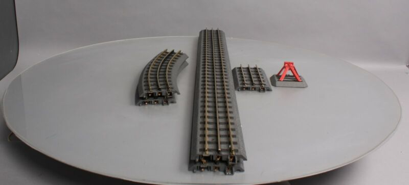 Assorted MTH RealTrax Track Sections [6] EX