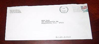 Ameri Sport Group  Hockey Club Envelope Post Mark 1989 Fan Mail Order