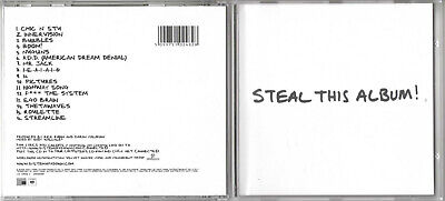 SYSTEM OF A DOWN / STEAL THIS ALBUM! / 2002 CD ALBUM segunda mano  Embacar hacia Mexico
