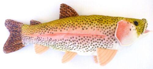"""17"""" Sierra Rainbow Trout Plush Stuffed Animal Walltoy Wall M"""