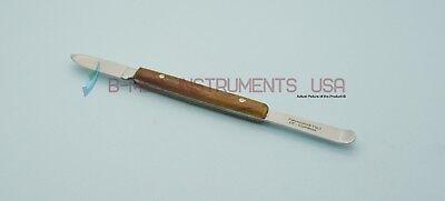 Dental Fahnenstock Plaster Knife 2 Wax Carver Alginate Spatula Laboratory