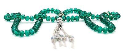 Muslim Prayer Shinny Crystal Beads 99 Tasbeeh Muslim Tasbih