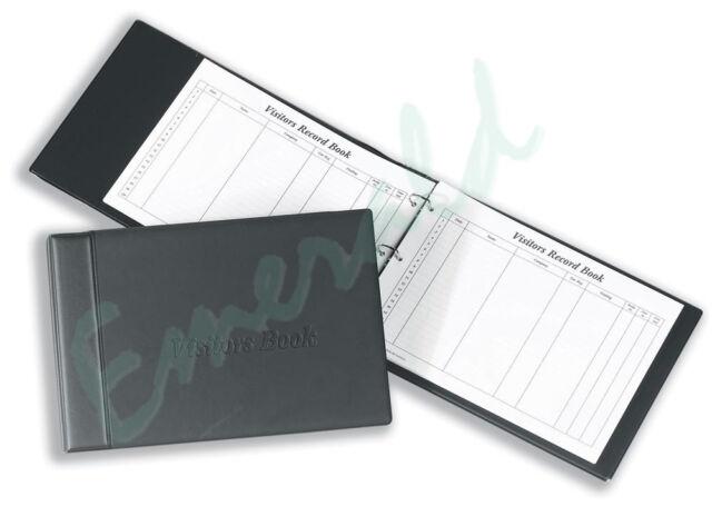 Concord Visitors Book Binder 85710 CD14 - Black - Same Day Dispatch