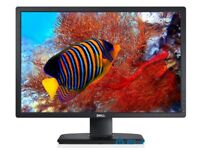 Dell Ultrasharp 24in monitor with soundbar 1920*1200 - excellent
