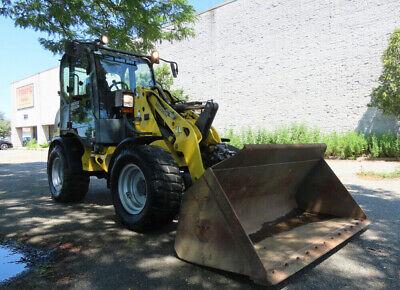 2014 Wacker Neuson Wl37 Wheel Loader Tractor High Flow Hyd Diesel 74hp Ac
