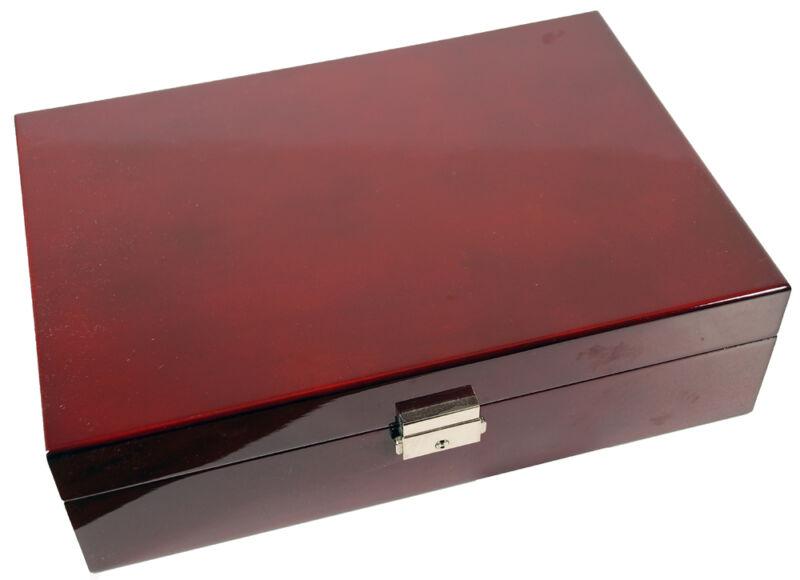 10 Watch Rosewood Storage Case Organizer