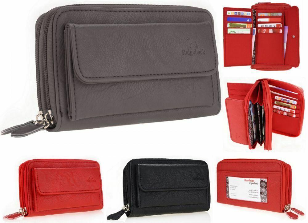 Damen Brieftasche Geldbörse Portemonnaie Geldbeutel Frauen Börse Portmonee PS122