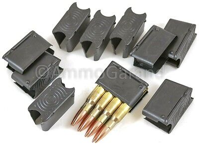10pk M1 Garand Clips 8rd ENBLOC Clip NEW Made in USA Govt Contrctr 30-06 & 308