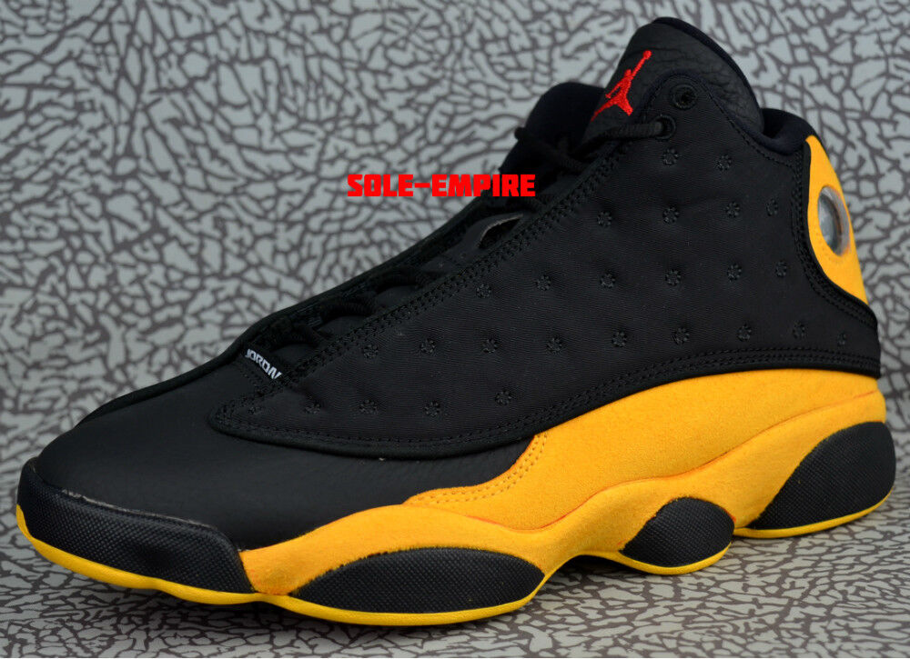 huge selection of 7ddf5 a89e8 Nike Air Jordan 13 Retro 414571-035 Melo Black Yellow Red Class Of 2002 Men  XIII