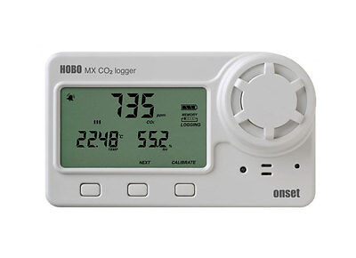Onset Hobo Mx1102 Bluetooth Carbon Dioxide Humidity And Temperature Data Logger