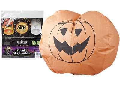 Halloween Chinese Sky Lanterns (2 Halloween Chinese Sky Lanterns Halloween Ghost & Pumpkin Trick or Treat)