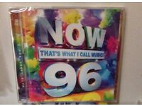 Now 96 cd new & sealed