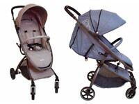 Pushchair baby pram stroller grey