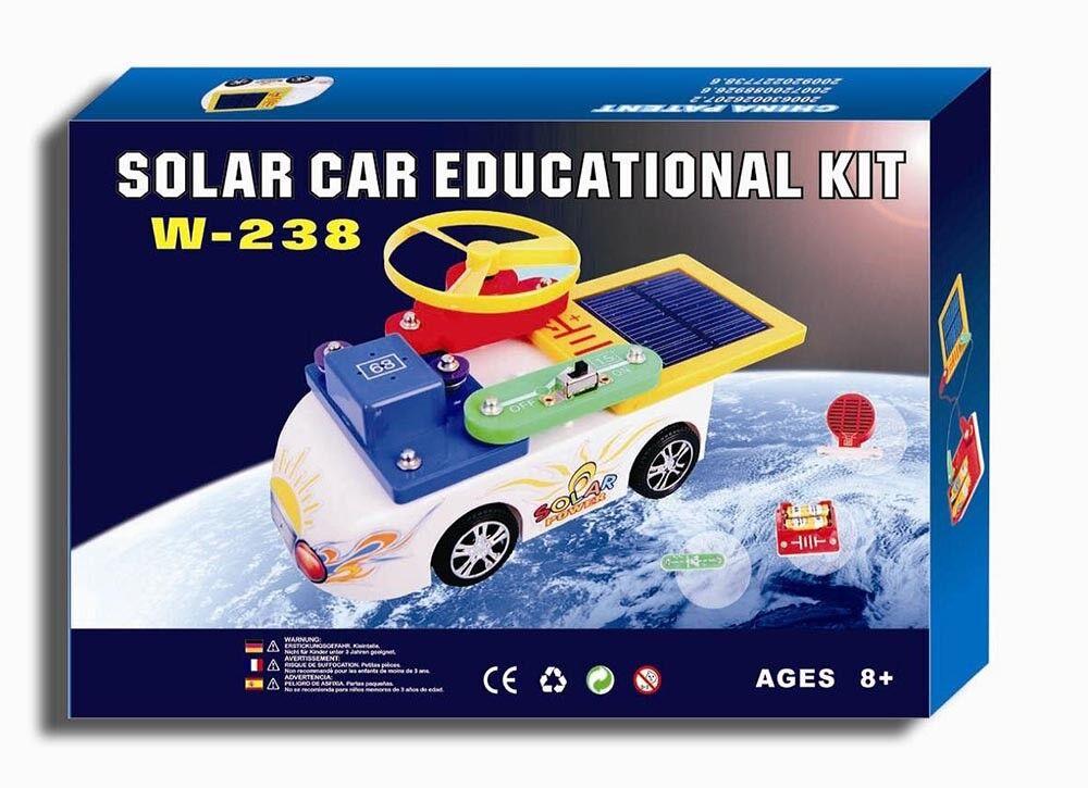 snap on solar educational car kit solar