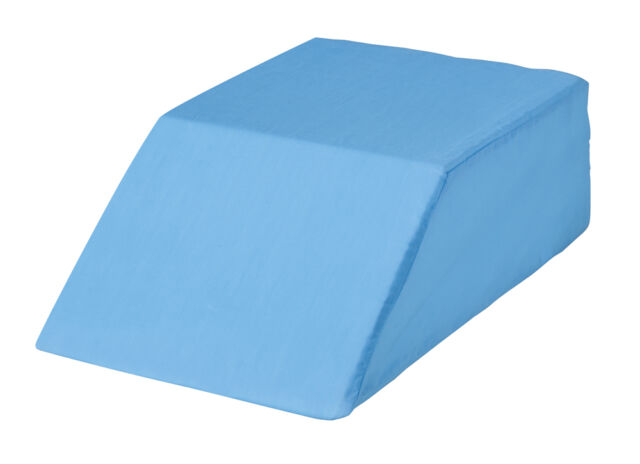 easy comforts bed wedge leg lift cushion pillow blue blue - Bed Pillow Chair