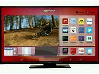 "Hitachi 40"" LED SMART TV BUILT IN FREEVIEW FULL HD 1080P"