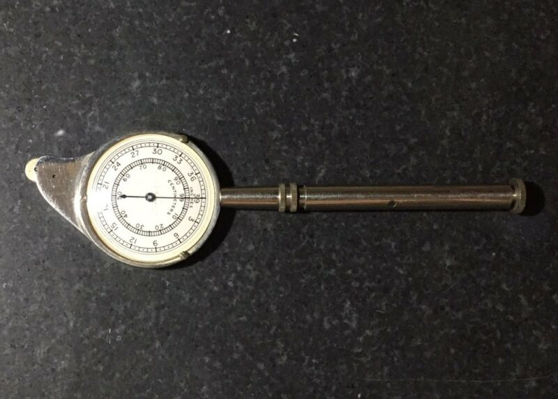 Vintage Hamilton Watch Co. Model 33 Map Measure Opisometer