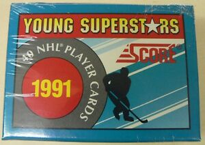 Série Cartes Hockey Score 1991 Young Superstars