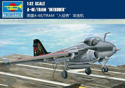 ◆ Trumpeter 1/32 02250 A-6E/TRAM Intruder model kit, used for sale  Shipping to Canada
