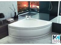 1350 x 1350 Corner Shape Luxury Acrylic Bath