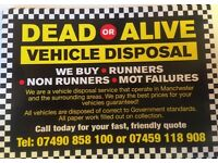 dead or alive scrap cars and vans bought for cash on collection best prices cash paid guaranteed
