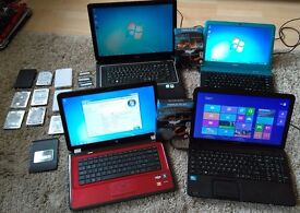 Laptops Memory Hard Drives Password Removal Screens from £20 Free Local Delivery
