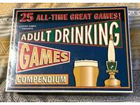 25 All Time Great Adult Drinking Game Compendium. Lagoon Games. Complete And VGC