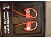brand new in box Beats by Dr. Dre Powerbeats2 Ear-hook Wireless Headphones red