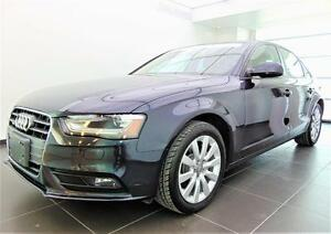 2013 Audi A4, Bluetooth, Phares Automatique 2.0T Komfort