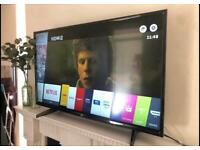 """43"""" 4K LG Smart WiFi Ultra Hd Led tv Excellent condition tv"""