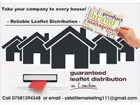 Leaflet Distribution in London.