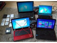 Laptops from £60. Memory Hard Drives Laptop Blu Ray Drives Screens from £15 Free Local Delivery