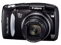 New Canon PowerShot SX120 IS Digital Camera (10 Megapixel, 10x Optical Zoom) 3.0 inch LCD