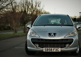 2009 PEUGEOT 207 1.4 SPORT BRAND NEW CLUTCH + SERVICED