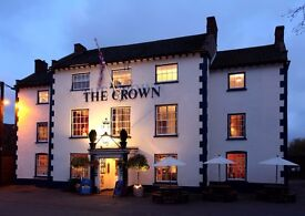 Front of House staff at TheCrown Hotel required
